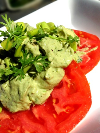 tomato topped avocado 3