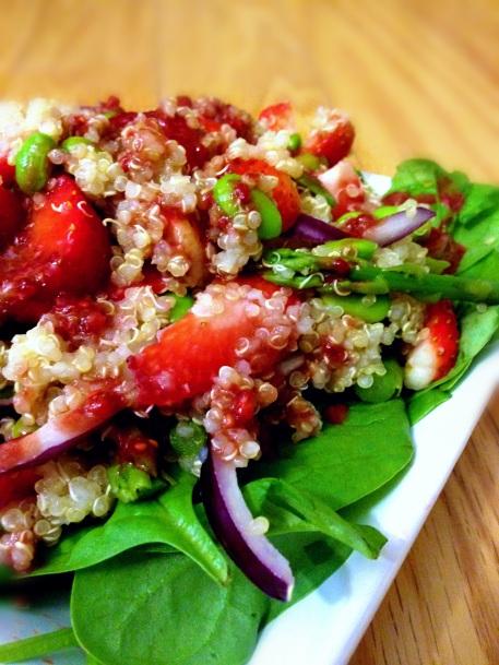Warm Spring Salad Served Cold